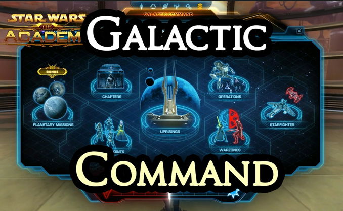 SWTOR Commond pointso